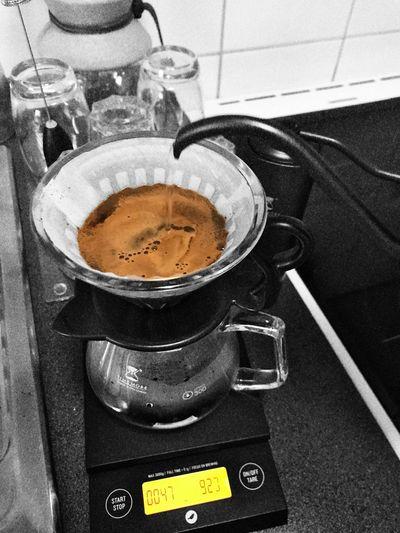 Hand brewed ☕️ Tadaa Friends Tadaa Community Morning Rituals Blackandwhite Coffeelover Handbrewcoffee Drink Coffee Cup Mug Coffee - Drink Still Life Close-up