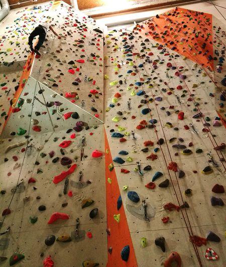 Climbing. Im loving it. Sport Indoors  Climbing Climbing Wall Climb Up! Adventure Love Tranquility