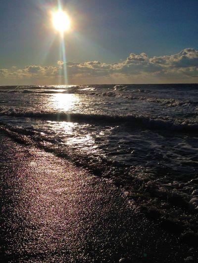 おはよう〜ございます(^^)晴れ〜 Beach