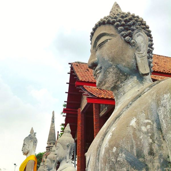 Statue Sculpture History Architecture Travel Destinations Sky Outdoors No People Day Asian  Travel Photography