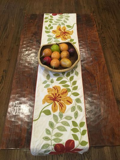 Coffee Table Interior Style Wood Floors Coffee Table Table Runner Fruits Beautifully Organized