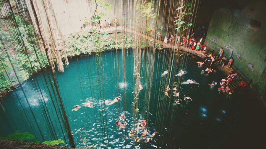 Cenote Ik Kil Cenotes Yucatan Mexico Cenote Ik Kil
