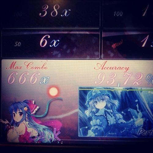 Beautiful combo :3 Osugame