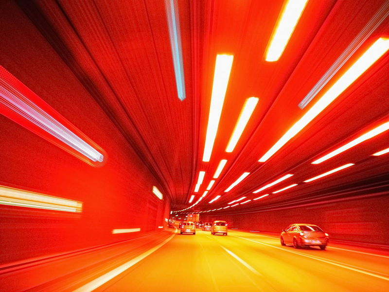 Abstract Architecture Blurred Motion Car Cars Glowing Highway Illuminated Lighting Equipment Long Exposure Road Speed Streetphotography Transportation Tunnel Tunnel Vision Vehicle