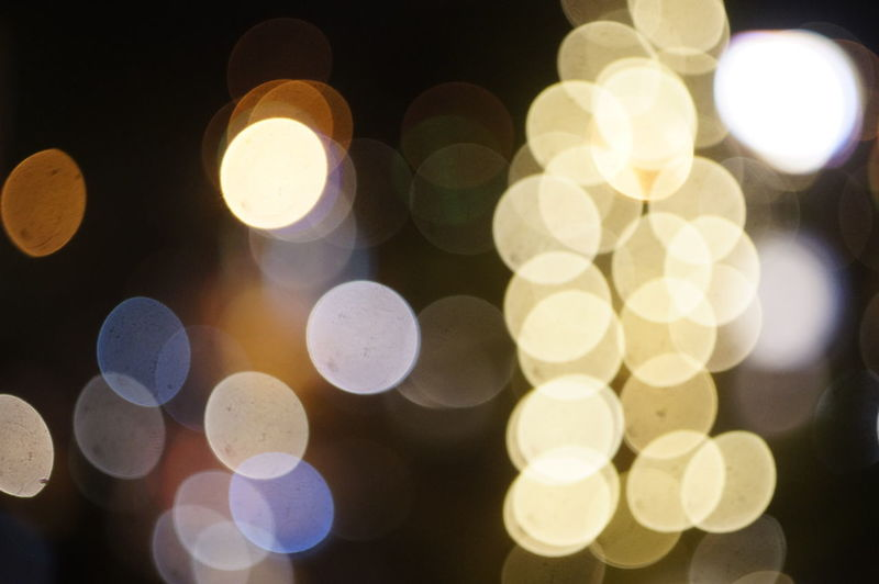 Backgrounds Close-up Defocused Glowing Illuminated Lens Flare Light Effect Lighting Equipment Night No People Outdoors