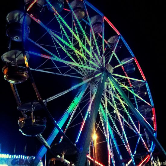 Faris Wheel , Fair , Summer , Colorful