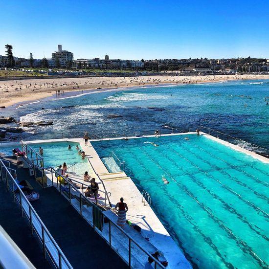 The Good Life Visit Sydney Sydney Sightseeing Bondi Best Of Australia Water Sky Swimming Pool Nature Pool Blue Day