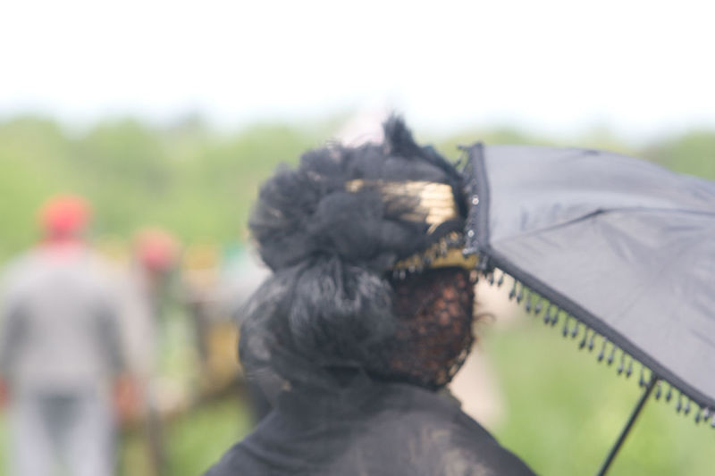 Black Dress Civil War Re-enactments Day Focus On Foreground History Through The Lens  Reenactment Reenactors Umbrella Woman