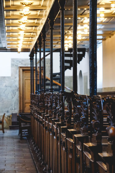 Copenhagen, Denmark Church Benches Interior Design Interior Perspective Angles Wood Wood Structure Day Built Structure