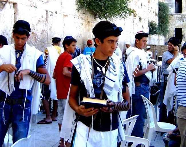 Israel Street Photography People Watching Rabbinical