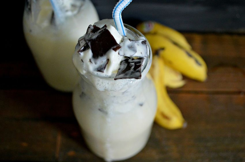 Close-up Focus On Foreground Food Milkshake No People Selective Focus Still Life Sweet