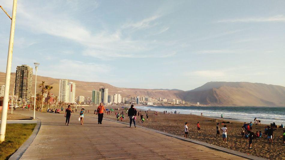 Iquique Playa Iquique Chile  Playa Brava Gente People Beach Colour Your Horizn