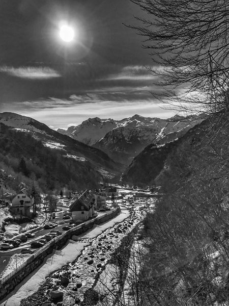 View from Bareges 😀 Atlantic Pyrenees France Photooftheday Travel Destinations Landscape Mountain Sky Nature Snow Beauty In Nature Tranquility Iphoneonly Iphonephotography Mobilephotography EyeEm IPhoneography Outofthephone Iphonographie IPhoneography Snapseed Scenics Blackandwhite Bnw