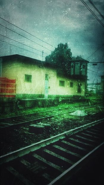 Railway Buildings Scratch