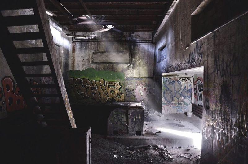 Abandoned Graffiti Inustrial  Urban Exploration Sweden
