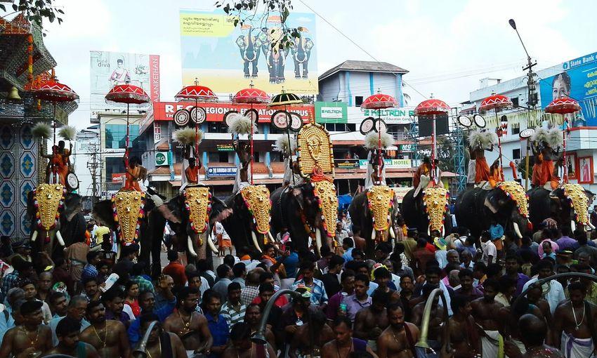 World's no.one pooram festival in India .Kerala.ThrissurGoodnight✌ Good Night N Sweet Dream Gdnyt✨💕 Hello World OpenEdit