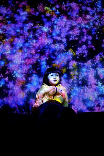 TeamLab TeamLab Light Beautiful Baby ❤ Hanging Out With Family Good Show  Canon M5 Photography