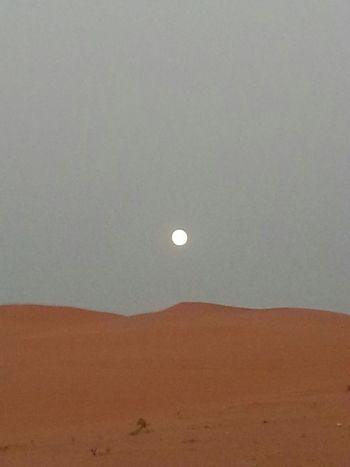 Camping Desert Sand Relaxing Sands & Moon