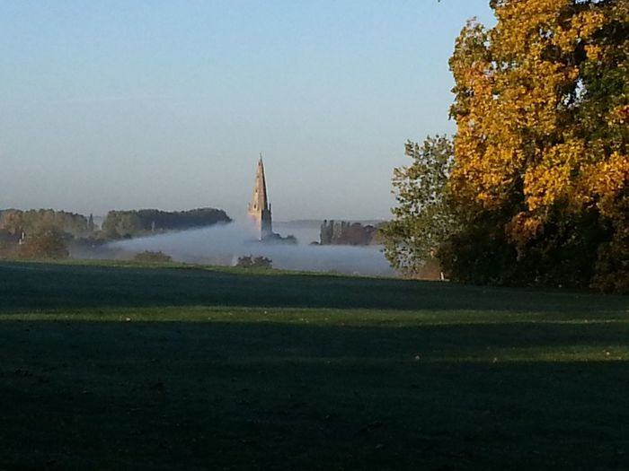 Beautiful View Mist Over Olney 2013 Olney Buckinghamshire Samsung Galaxy S3