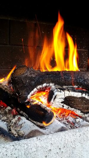Enjoying Life Hello World Relaxing Barbecue Fire Hi! Burning Wood Firewood Warming Up By The Fire Its Cold Outside
