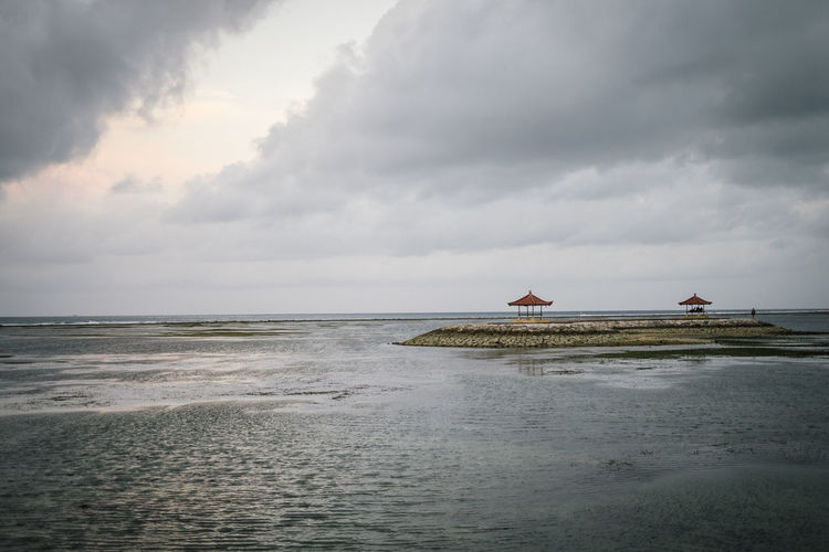 Beach Beauty In Nature Built Structure Cloud - Sky Day Horizon Horizon Over Water Land Nature No People Non-urban Scene Outdoors Scenics - Nature Sea Sky Tranquil Scene Tranquility Water Waterfront