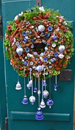 Colorful Colors Day Decorated Door Decoration Decorative Door Flowers Green Color Hanging No People Outdoors Welcome