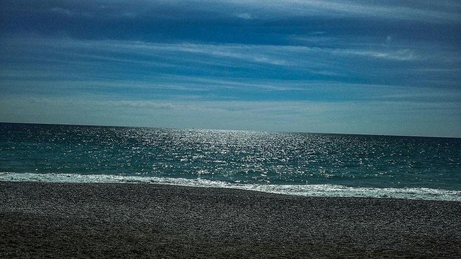 Sea Horizon Over Water Nature Beauty In Nature Beach No People Tranquil Scene Tranquility Vacations Eyeemphoto Popular Photo Adobe Photoshop Lightroom EyeEm Spain Movilgrafía