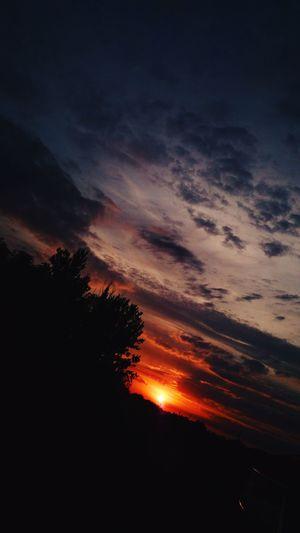 Sunset Piotrków Trybunalski Vscocam VSCO