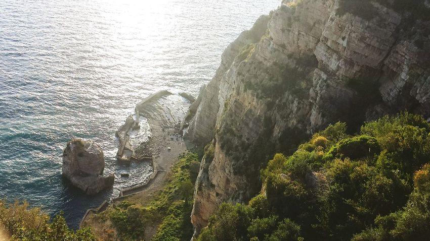 Mare E Sole Costierasorrentina Panorama Relaxing Meta Di Sorrento Water Napoli Nature_collection Water_collection Panoramic Photography Italia Natura Reflections Nature Photography
