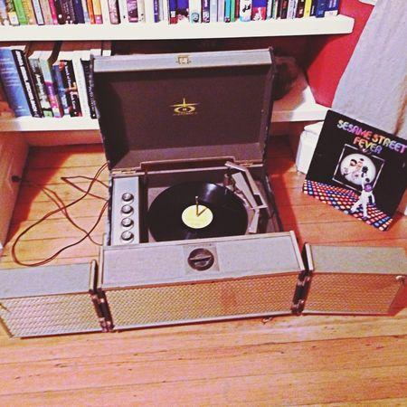 Sesame Street Vintagehifi Disco Stereo