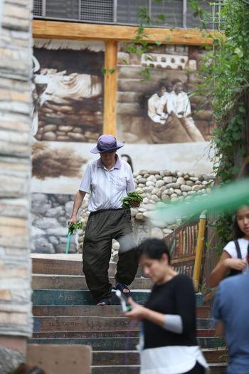 Art Enjoying Life EyeEm Best Shots EyeEm Nature Lover Korea Photos Lifestyles Town Mural Uncle Uncles