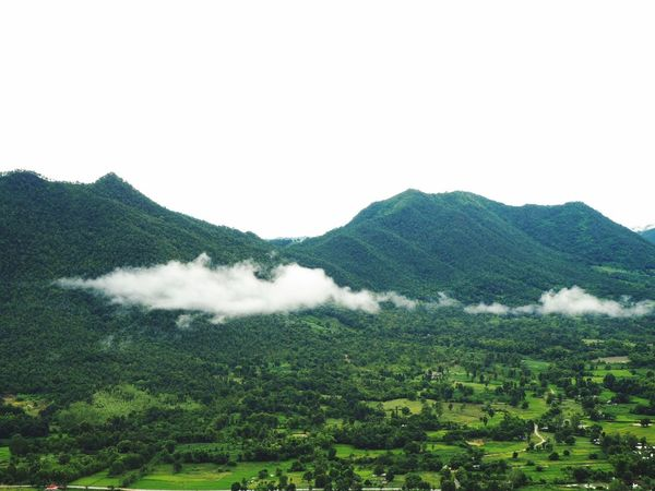 I love green view. Chiangkhan Loei,thailand