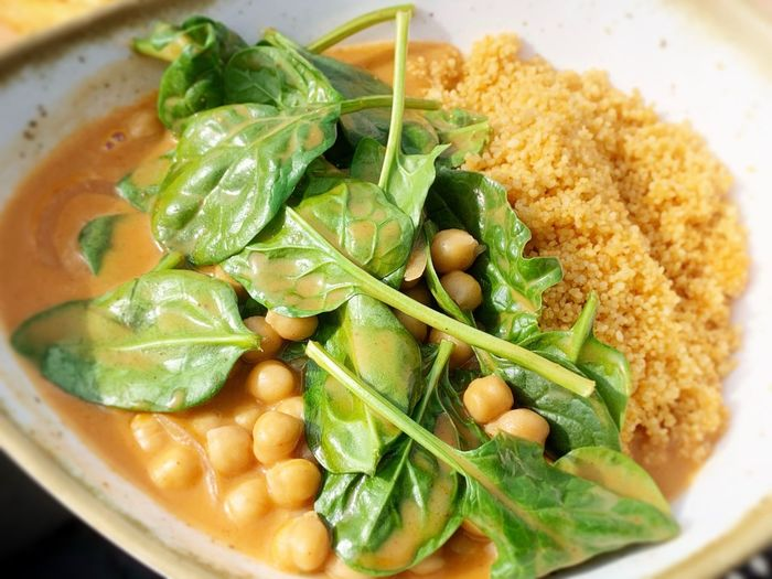 chickpeas and