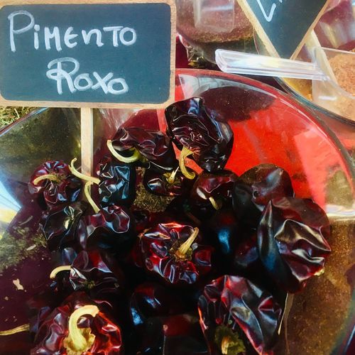 Purple peppers Spicy Food Violet Purple Peppers Purple For Sale Retail  Large Group Of Objects Close-up Price Tag Food And Drink Market Food