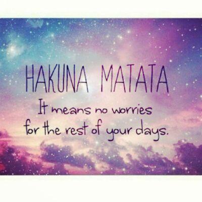 Hakuna Matata ♥∞