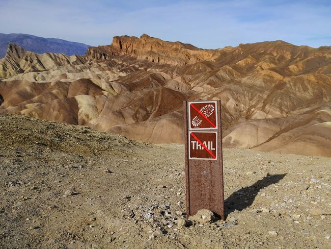 Death Valley Death Valley National Park Zabriskie Point Beauty In Nature Desert End Of Trail Landscape No People