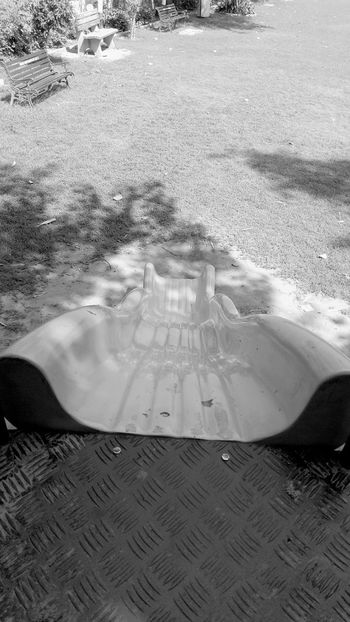 Playground Slide Outdoors Monochrome Photography Mobile Photography Monochrome Monocrome Photography Black & White Greyscale SSClicks SSClickPics