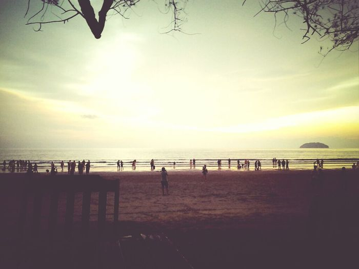 KK getaway..home is where the sunset is. Beautiful Day Sunset Holiday