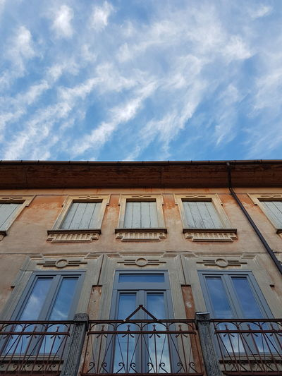 Architecture Building Exterior Cloud - Sky Day Low Angle View No People Outdoors Sky Window