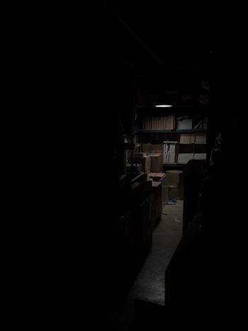 My Workspace Dark Indoors  Architecture Built Structure No People Day
