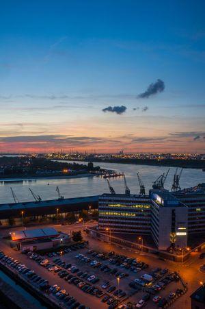Antwerpen Nightphotography Night Lights Dusk Schelde