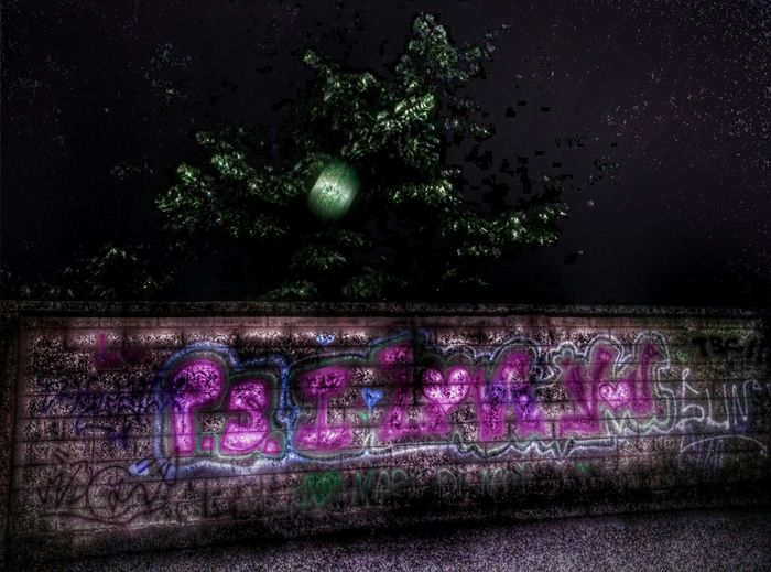 Ps I Love You Graffiti Night Walk