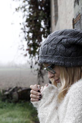 Knit Hat Warm