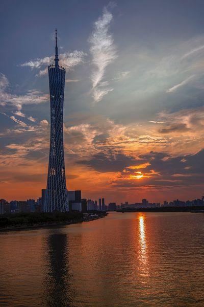 好心情(1) EyeEm Selects Sky Architecture Sunset Built Structure Water Travel Destinations