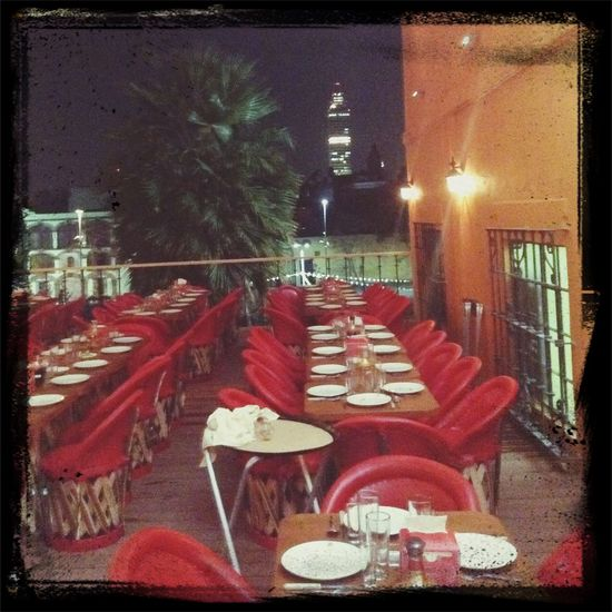 La vista de la nueva terraza del tenampa Night Out Drinks Enjoying Life Hanging Out