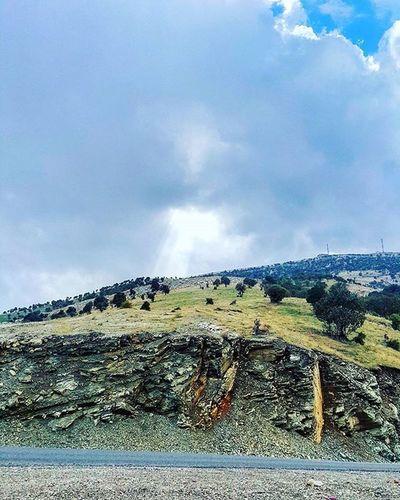 HolyKurdistan Kurdistan Hiran Hiranwnazanin Sky Earth Kurdland Hawler Shaqlawa Shine Shining Blue Clouds Sight View Insidethecar