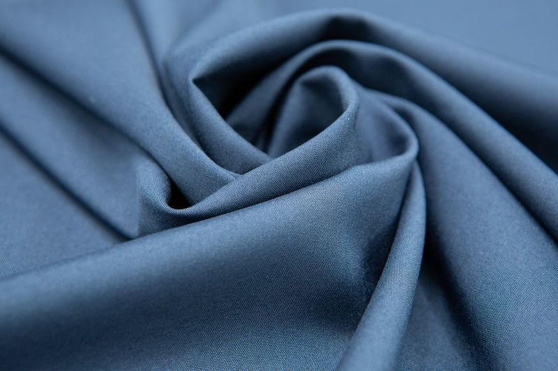 Silk Backgrounds Industry Blue Luxury Beauty Textured  Full Frame Textile Rippled