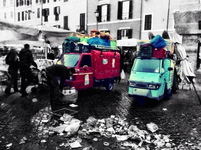 Capture The Ride With Uber The Explorer - 2014 EyeEm Awards Street Photography Campo de' fiori in Rome EyeEm Best Shots