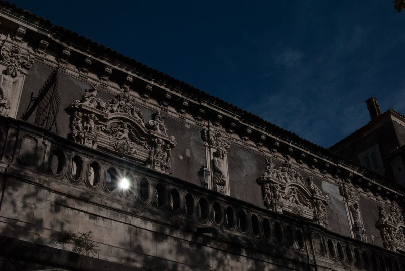 Architecture Barocco Architecture Barocco Siciliano Building Exterior Catania Historical Building Monument Palazzo Palazzo Biscari Sicily