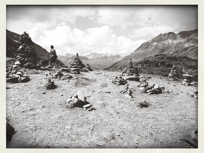Summer 2013 Italienischereise Les Alpes